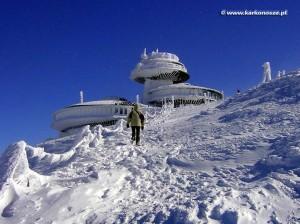 Karpacz atrakcje - Śnieżka zimą